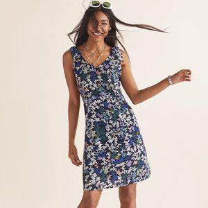 CAbi | Size S. Cinco Printed Shift Dress